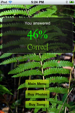 Screenshot EcoQuiz