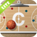 Basketball clipboard lite